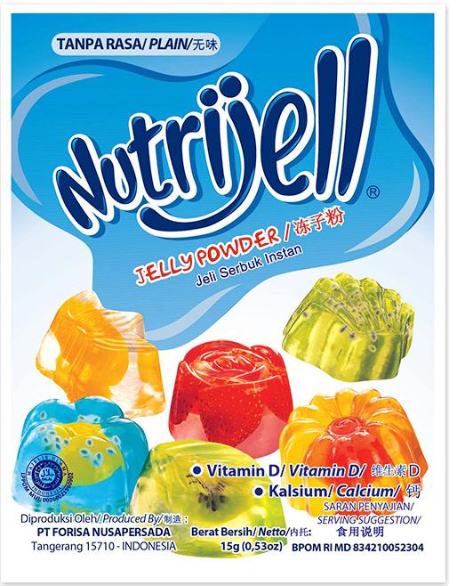 Cara membuat permen jelly nutrijell, bikin nagih!